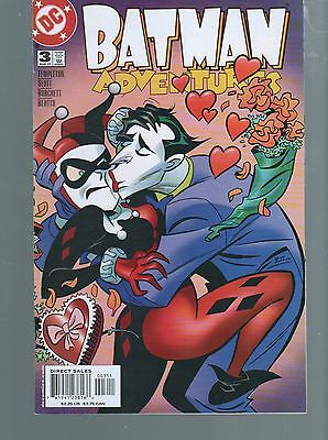 Batman Adventures  3  Harley Quinn  / Joker Story   Nm 9.4  Dc Comics