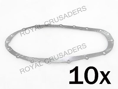 New Lambretta Gp,li,sx,tv Chain Case Gaskets Pack Of 10 #vp49 (Code-1318)