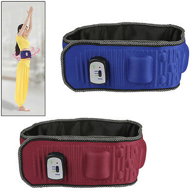 Electric Waist Massage Slimming Vibration Belt Fat Burning Lose Weight Exercise