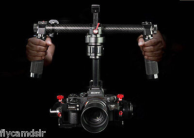 Brushless 3 Axis DSLR Camera Mount Handheld Stabilized Gimbal for 5D3 /GH4 /A7S