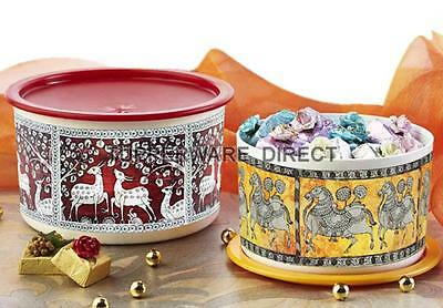 Tupperware Printed OTT ( One Touch Topper ) - Deer & Horse - 2 pc