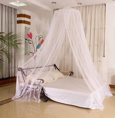Fashion Round Lace Curtain Dome Bed Canopy Netting Princess Mosquito Net