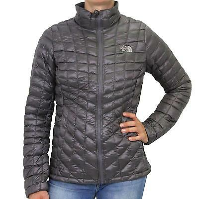 The North Face ThermoBall Full Zip Jacket Winterjacke Outdoor Damen Grau