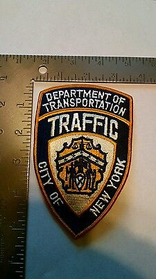 NEW York POLICE patch patches Department of Transportation Traffic City of