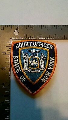 NEW York POLICE patch patches Court Officer