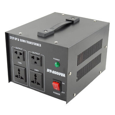 Spannungswandler Transformator 220V To 110V Step-up/down Voltage Converter 2000W