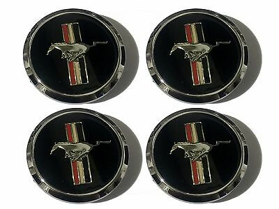 Ford Mustang Replacement Wheel Cap Hub Centre Center Caps Running Horse x4
