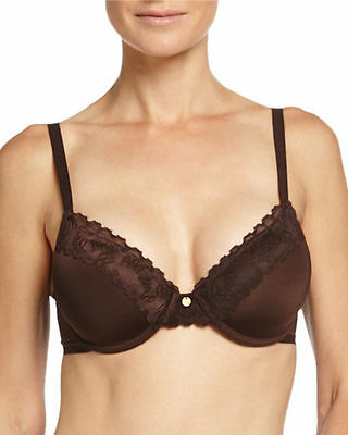 0c004a1449 Natori Hidden Glamour Full Fit Contour Underwire Bra Brown  736044 36 Ddd   68