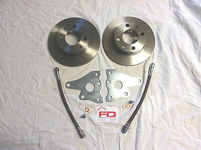 Freni , Disco, Set Per Modifica Freni A Disco Anteriore Fiat 500/126 Fusello 126