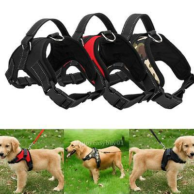 Pet Dog Soft Adjustable Harness Pet Walk Out Hand Strap Vest Collar new