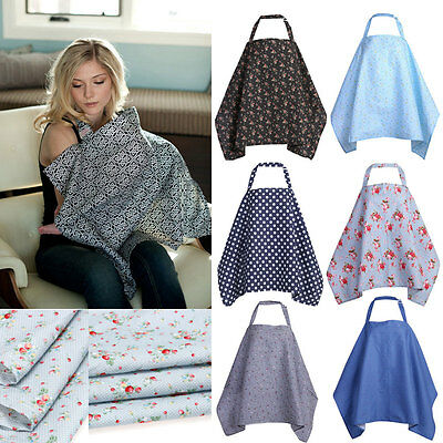 Cotton Mum Breastfeeding Nursing Covers Udder Covers Blanket Shawl Flower