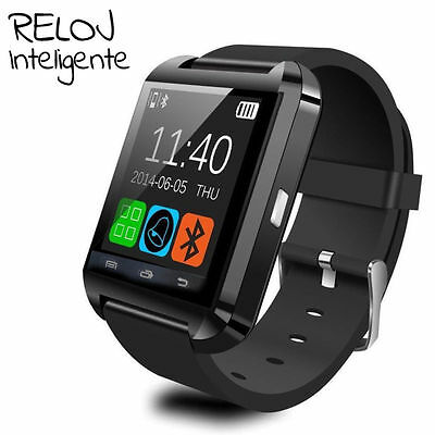 Reloj Inteligente Smart Watch reloj de pulsera para iPhone IOS Android Bluetooth