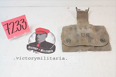 WWI and WWII US Army Medical Pouch in Semi-Rough Condition