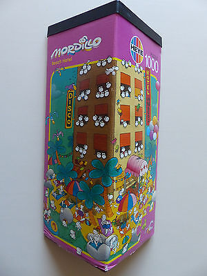 Mordillo - Beach Hotel jigsaw puzzle 1000 pcs,1992 (Heye, 8773), sealed bag