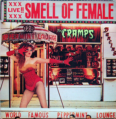 THE CRAMPS Smell Of Female UK vinyl LP SEALED/NEW