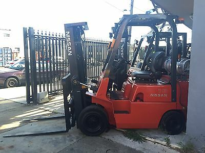 NISSAN Forklift 1.8T Container Mast 4.3m Lift Refurbished $8999+GST Negotiable