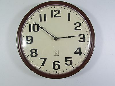 "12"" Chicago Lighthouse Quartz Commercial Wall Clock School Business Made in USA"