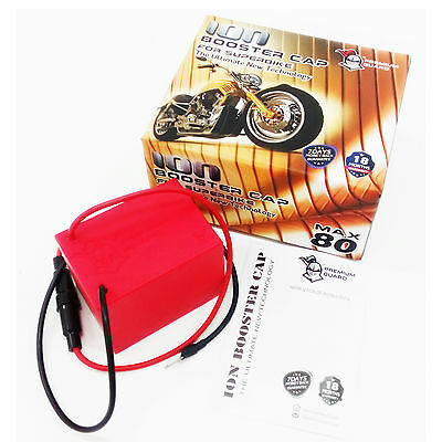 ION BOOSTER CAP MAX 80 Boosting Bike Performance Prolong Battery 300-1500CC