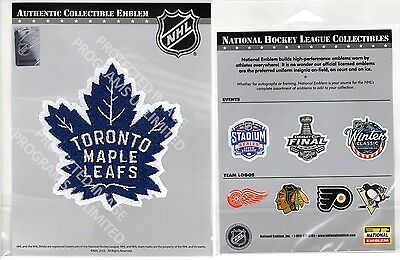 "Toronto Maple Leafs Patch ""puck"" Design Centennial Season Stanley Cup Champs"