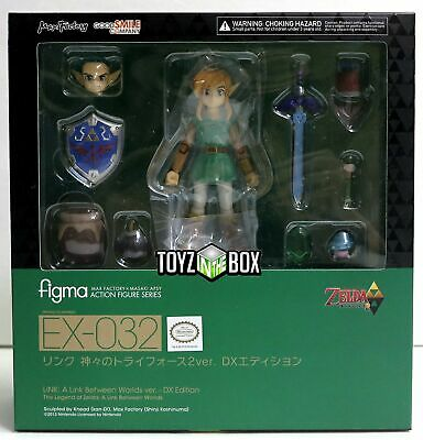 "In STOCK Good Smile Figma ""Link Deluxe DX Ver"" Between Worlds Action Figure"