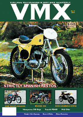 VMX Vintage MX & Dirt Bike AHRMA Magazine - ISSUE #21