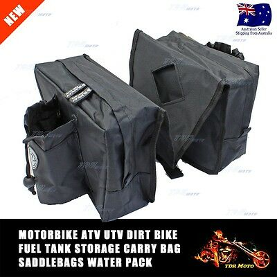 Motorcycle Dirt Bike Motocross Front Over Tank Saddle Tool Wallet Day Bag
