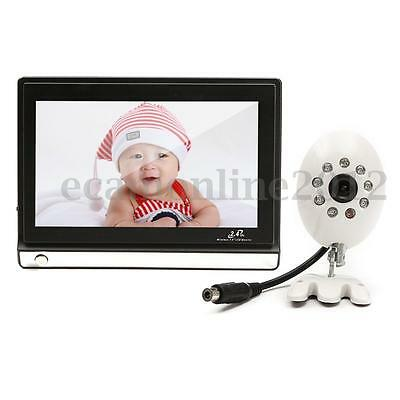 """7"""" 480x234Pixed TFT LCD Screen Digital Wireless Video Remote Camera Baby Monitor"""