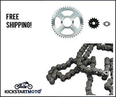 Chain and Oversize Sprocket Kit for Honda CT110 Postie Bike 1999-2012 GO FASTER