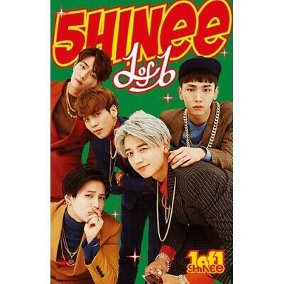 SHINEE-[1 OF 1] 5th Album Limited Edition Ver. Cassette Tape+1p Gift Card Sealed