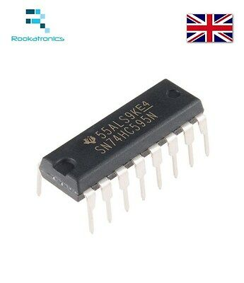 IC 74HC595 74595 SN74HC595N 8-Bit Shift Register DIP-16 Brand New Free Postage