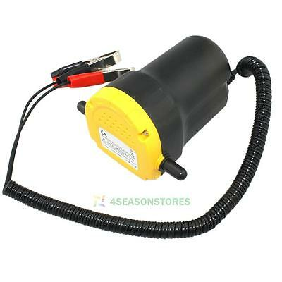 12V 5A Oil Diesel Fuel Transfer Pump Fluid Extractor Electric Scavenge Suction
