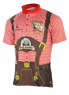 Olorun Bavaria RFC Oktoberfest Fancy Dress Rugby Shirt S-7XL