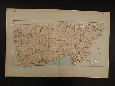 New York, Oneida County Map, 1907 Town of Vienna, Double Page R3#08