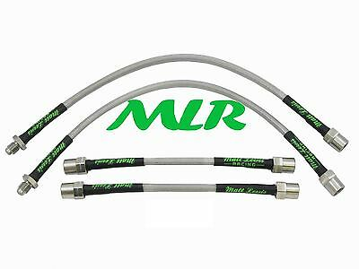 Mk2 Clio 1.4 1.6 2.0 172 / 182 Cup Aeroquip Braided Brake Lines Hoses Pipes Ow