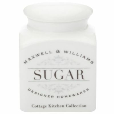 NEW Maxwell & Williams Cottage Kitchen Sugar Canister