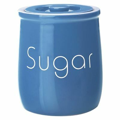NEW Maxwell & Williams Chef du Monde Sugar Canister in Blue