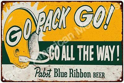 1961 Green Bay Packers Reproduction 12 x 18 Metal Sign 2181318