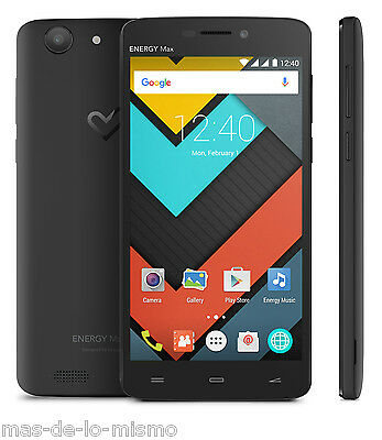 "SmartPhone Libre Energy Sistem Phone Max 4000 IPS 5"" Quad Core 8GB GPS Bluetooth"