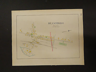 New York, Oneida County Map, 1907 City of Deansboro R3#41