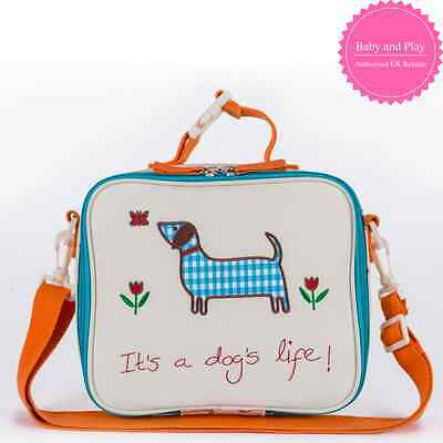 Pink Lining Child Lunch Bag It's A Dogs Life - Kids Lunchbag Lunchbox
