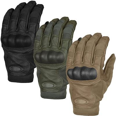 2016 Oakley SI Tactical Touch Leather Mens Military Protective Gloves - PAIR