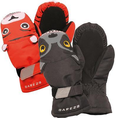 Dare2b Ferocious Kids Mitts Boys Insulated Water Repellent Mittens