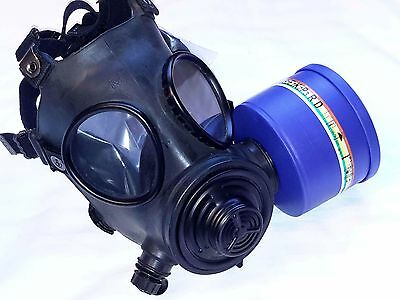 Evolution 5000 Military-Spec NBC/CBRN Gas Mask 40mm NATO Filter Exp 11/2022 NEW