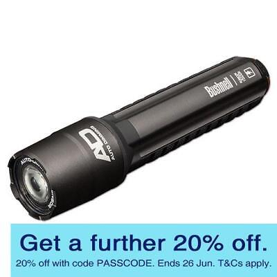 Bushnell T500R Rubicon Rechargeable Flashlight (10R500) with GEN BUSHNELL WARR