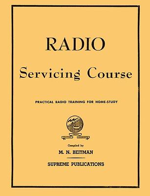 Antique Radio Repair & Servicing Course for Home Study - M.N. Beitman - CD