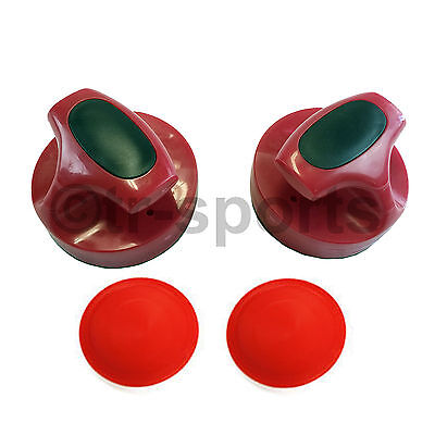 Air Hockey 1 Accessory Pro Set: 2 Pushers + 2 Pucks Free Delivery