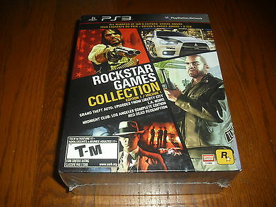 Rockstar Games Collection Edition 1 Volume 1 / Playstation 3 Ps3, New!
