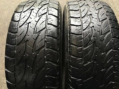 2 X 265 65 17 Bridgestone Dueler % 75 At Tread . Fitting Available, Freight