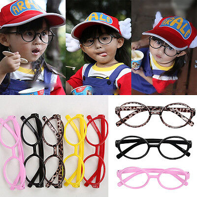 New Children Kids Baby No Glasses Fashion Cute Round Spectacle Lightweight Frame