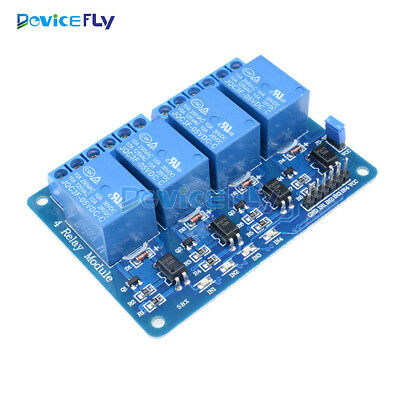 5V Four 4 Channel Relay Module Shield With optocoupler F PIC AVR DSP ARM Arduino